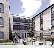 Residents will share a 170sq/m rear residents courtyard