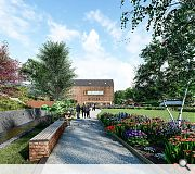 Extensive landscaped grounds will envelop the revamped distillery