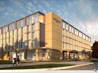 160 bed modular hotel to support Oriam sports hub