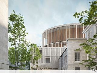 David Chipperfield makes an Impact with Edinburgh concert hall