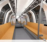 Walk through cabins will maximise carrying capacity on the diminutive trains