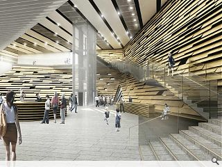 V&A at Dundee to move on site next month