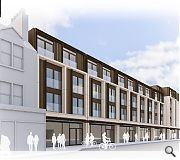 A single storey parade of shops will be demolished to make way for the new scheme