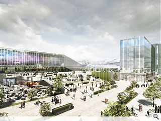 SEC initiate plans for Europe's 'best' event campus in Glasgow