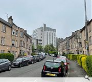 Learmouth Crescent has been chopped in half by Finance House