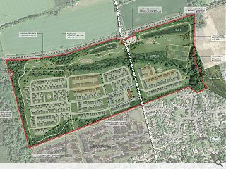 Balerno masterplan cloaks new homes with green links and landscape buffers
