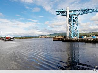 Clydebank's Titan Crane ranked alongside Eiffel Tower in engineering importance
