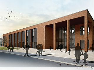 Replacement Carntyne Primary School proposed