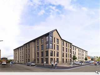Glasgow Housing Association progress latest Govanhill homes