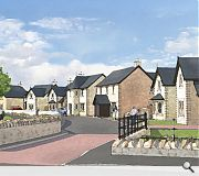 Housing will be grouped around a 'village centre'