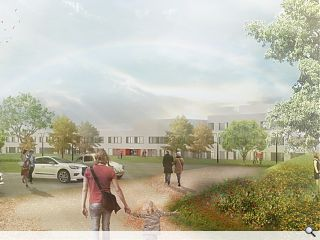 Keppie draw up plans for £72m East Lothian Hospital