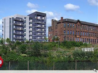 C-listed former Dalmarnock school to house 111 new homes