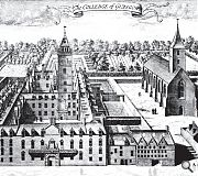 The buildings shown in the 17th Century print show the site as it would have been recognised by leading thinkers from the Scottish Enlightenment of the next century, such as Adam Smith - who was a professor there