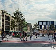 A new town square and civic event space is planned for Motherwell
