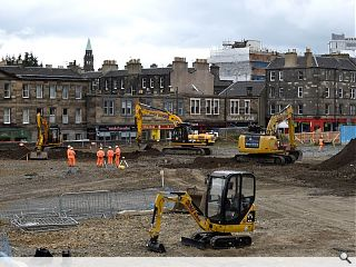 Contractors commence above ground Haymarket works