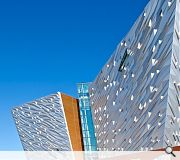 The 14,000sq/m building took three years to complete - the same amount of time as the Titanic itself