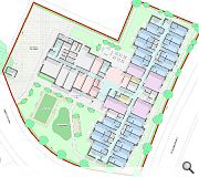 A small putting and bowling green will be provided for residents