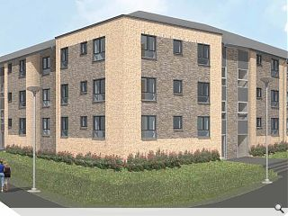 Construction begins on £5.9m Cadder housing
