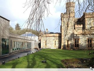 Lews castle museum & archive takes shape