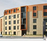 Copper and copper-effect cladding are used to unify the build