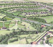 The development would draw thousands of tourists to a new National Garden as well as thousands of new residents