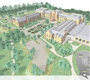 The hotel has been reduced in size from 250 bedrooms amidst concern over its scale