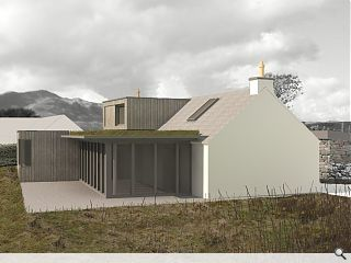 Approval granted for Raasay residence