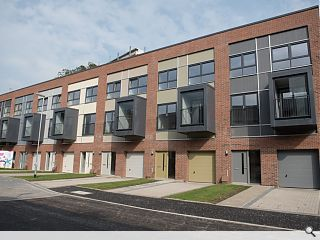 Partick Housing Association progress new homes