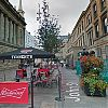Glasgow fosters street café culture with city centre trial
