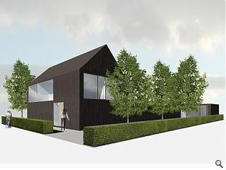 Graeme Massie discusses his 'Black' and 'White' expo homes