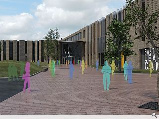Kilmarnock campus hits home straight with construction start