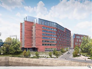 Downing Developments submit plans for 510 student rooms in Partick