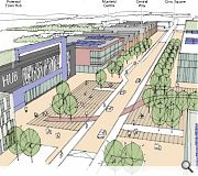 Cumbernauld is among the locations identified for a new civic hub