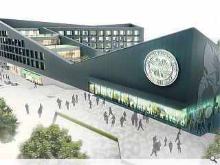 Celtic Park hotel & museum proposal makes planning