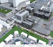 The facility will be built within the grounds of the redeveloped hospital