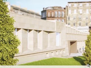 Scottish National Gallery project scaled back to keep costs under control