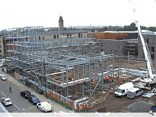 New Gorbals homes and offices progress
