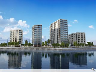 Leith reaches skyward with 237 home waterfront development