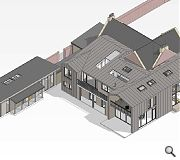 A wraparound extension will maximise the site footprint