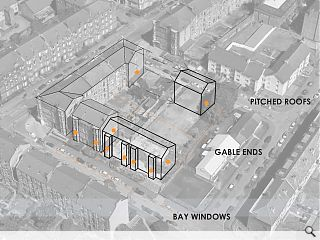 Dennistoun gap-site back in the picture with plans for 24 flats
