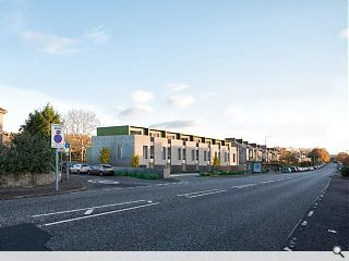 Edinburgh terraced housing wins approval