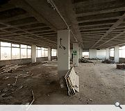 Floors will be propped and dismantled with rubble dropped down lift shafts