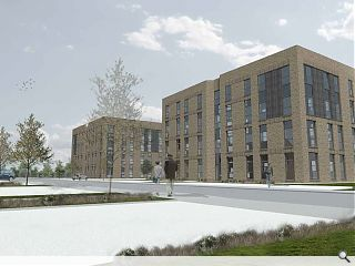 Mast fly the flag for East Kilbride affordable housing drive