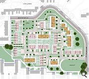 The estate will be built to designing streets principles