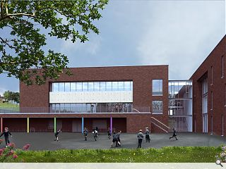 Broomhill Primary rebuild plans submitted