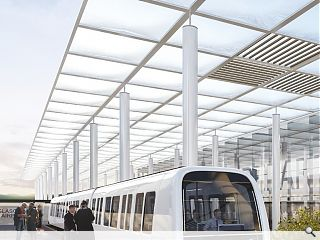 Funding in place for Glasgow Airport light rail link