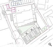 Surplus land fronting Barnardo's existing premises has been selected for the build