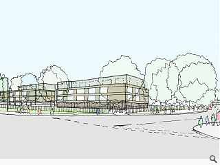 Public drop-in session held for new Queensferry High School