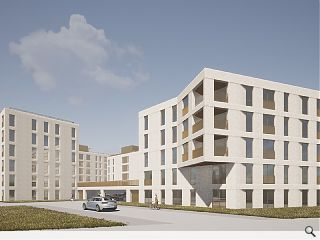 New architects up density at Lochend Park brownfield land