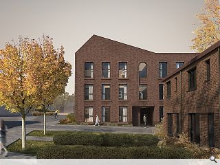 Brownfield Paisley build to deliver 49 homes